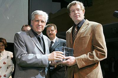 Verleihung Adwin 2005 Dorfinstallateur