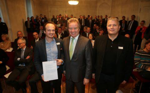 Verleihung IBK Nachhaltigkeitspreis Dorfinstallateur