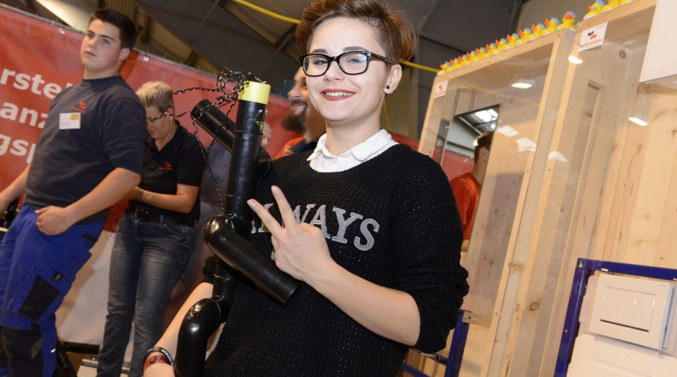 Dorfinstallateur Messestand Lehre im Walgau