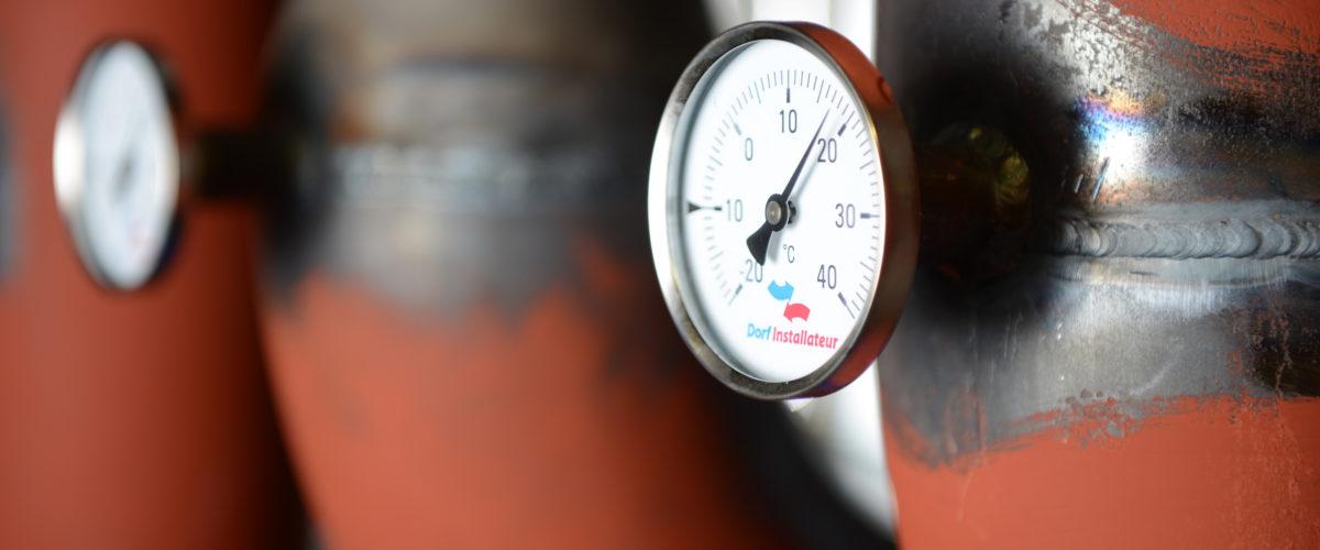 Thermostat Heizung Dorfinstallateur bei Grass Produktion