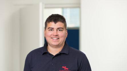 Mitarbeiter Dominik Braun
