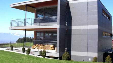 Referenz Dorfinstallateur Batschuns Holz Einfamilienhaus