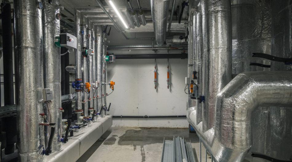 Referenz Dorfinstallateur Meusburger Wolfurt Technikraum Heizung