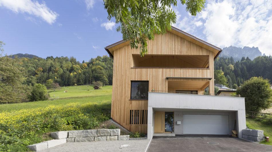 Referenz Dorfinstallateur Planken Liechtenstein Einfamilienhaus