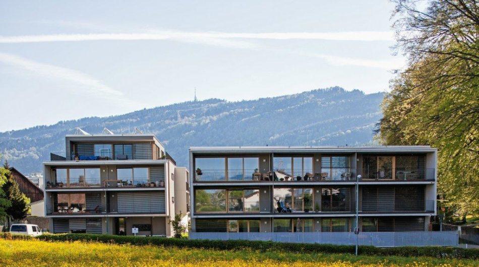 Referenz Dorfinstallateur Wohnanlage Bregenz Rieden