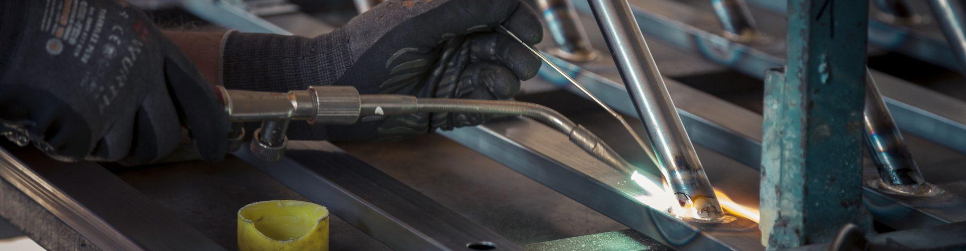 Metall Verarbeitung bei Dorfinstallateur Wolfurt