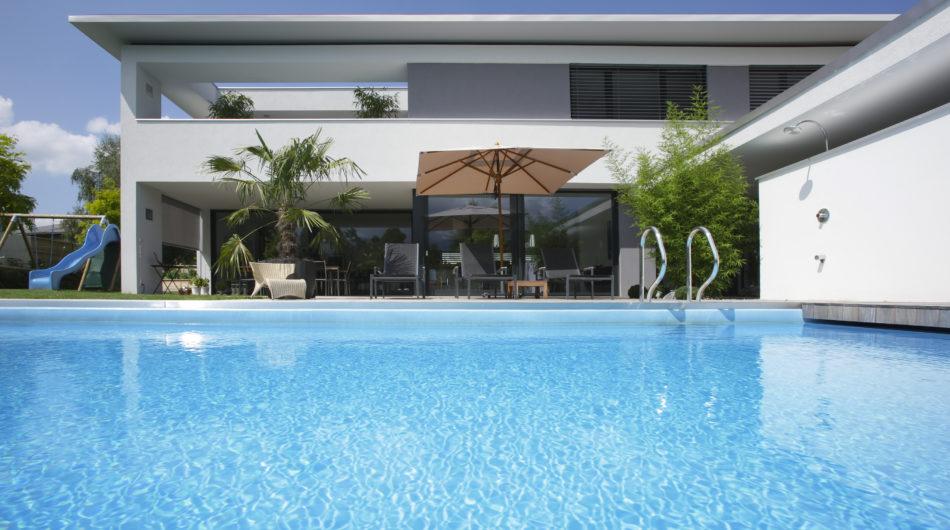 Referenz Dornbirn Einfamilienhaus Pool Dorfinstallateur