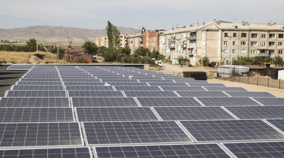 Referenz Dorfinstallateur Emils kleine Sonne Armenien Heizung Solaranlage