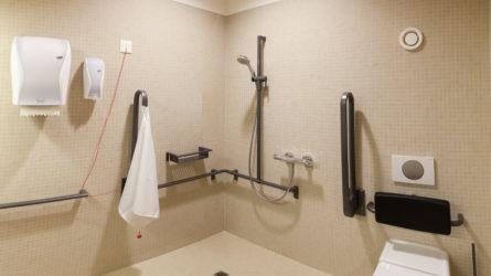 Referenz Dorfinstallateur Haus der Generationen Koblach Behindertengerechtes Bad