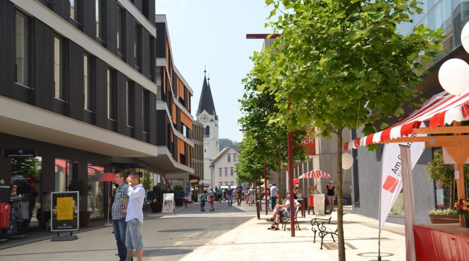 Referenz Dorfinstallateur Wohnanlage Am Garnmarkt Götzis