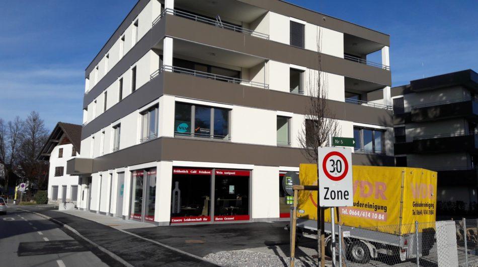 Referenz Dorfinstallateur Wohnanlage Kaiserpark Lustenau