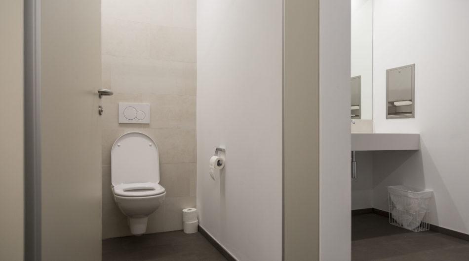 Referenz Mehrzweckgebäude Buch Vorarlberg Sanitär WC