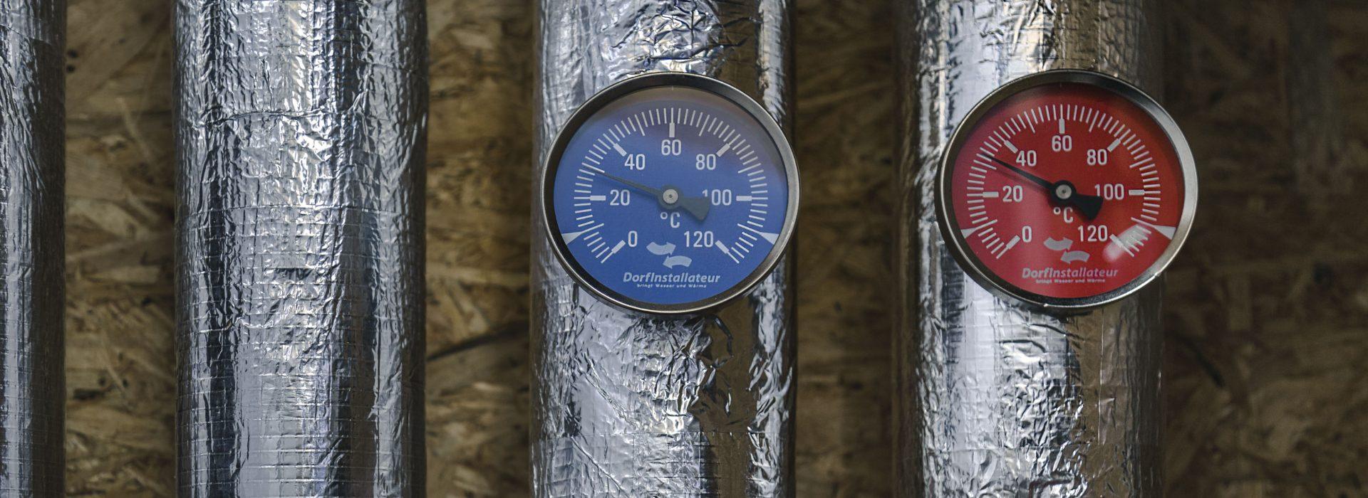 Dorfinstallateur und Klima Thermostat Rohre in Vorarlberg