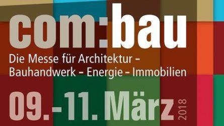 com:bau 2018 Messe Dornbirn, Vorarlberg