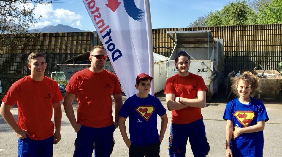Schaffartag Vorarlberg Dorfinstallateur Kinder Wolfurt