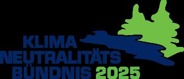 Dorfinstallateur beim Logo Klimaneutralitätsbündnis 2025