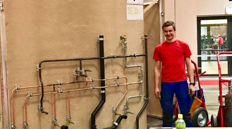 Austrian Skills Staatsmeisterschaft der Installateure Österreich Christopher Gasser