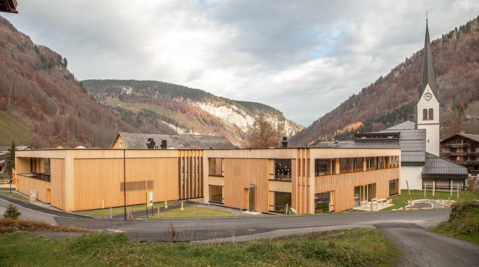 Gemeindezentrum Mellau Gebäude Dorfinstallateur