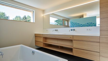 Wohnbau Hausbau Vorarlberg Installateur Badezimmer